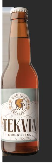 Tekvia Birra ambrata in stile American Pale Ale
